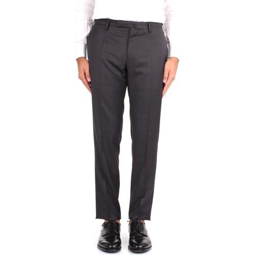 Textiel Heren Chino's Incotex 1T0030 1393T Grey