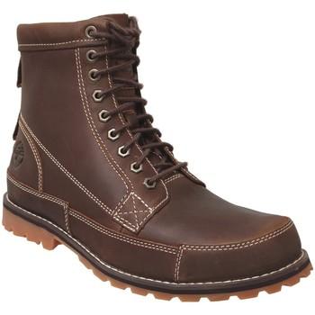 Schoenen Heren Laarzen Timberland Originals 6 in boot Bruin