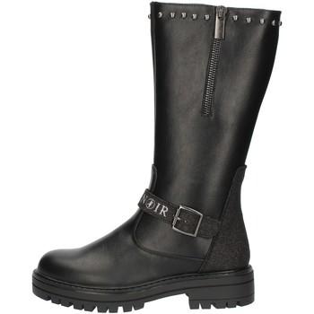 Schoenen Meisjes Hoge laarzen Café Noir C785 Black