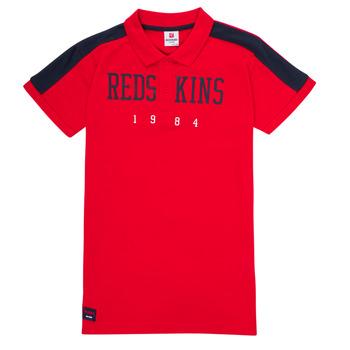 Textiel Jongens Polo's korte mouwen Redskins PO180117-RED Rood