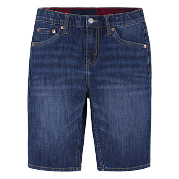 Textiel Jongens Korte broeken / Bermuda's Levi's PERFORMANCE SHORT Blauw