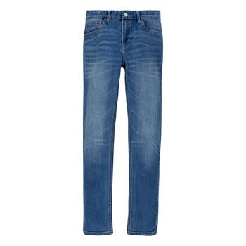 Textiel Jongens Skinny Jeans Levi's 510 ECO PERFORMANCE Blauw