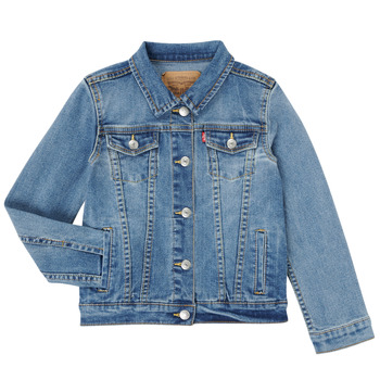 Textiel Meisjes Spijker jassen Levi's 4E4388-M0K Blauw