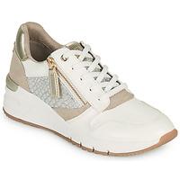Schoenen Dames Lage sneakers Tamaris REA Wit / Goud