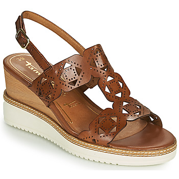 Schoenen Dames Sandalen / Open schoenen Tamaris ALIS Cognac