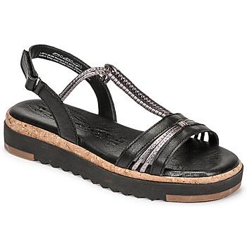 Schoenen Dames Sandalen / Open schoenen Tamaris BENNA Zwart