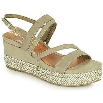 Schoenen Dames Sandalen / Open schoenen Tamaris KANNIE Pistache
