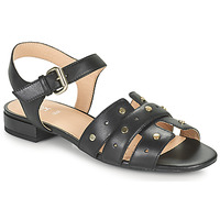 Schoenen Dames Sandalen / Open schoenen Geox D WISTREY SANDALO C Zwart