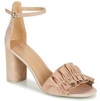 Schoenen Dames Sandalen / Open schoenen Geox D ERAKLIA HIGH E Beige