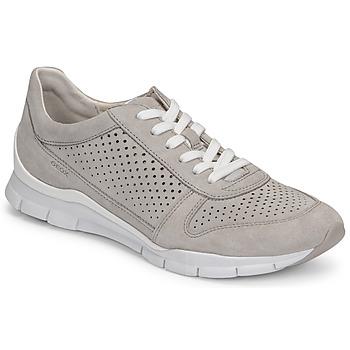Schoenen Dames Lage sneakers Geox D SUKIE B Grijs