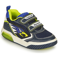 Schoenen Jongens Lage sneakers Geox INEK BOY Marine / Geel