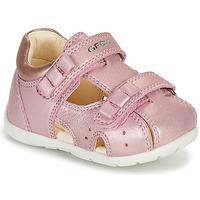 Schoenen Meisjes Sandalen / Open schoenen Geox KAYTAN Roze