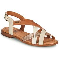 Schoenen Dames Sandalen / Open schoenen Pikolinos ALGAR W0X Wit / Roze / Goud