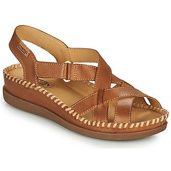 Schoenen Dames Sandalen / Open schoenen Pikolinos CADAQUES W8K Bruin