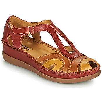 Schoenen Dames Sandalen / Open schoenen Pikolinos CADAQUES W8K Rood / Beige