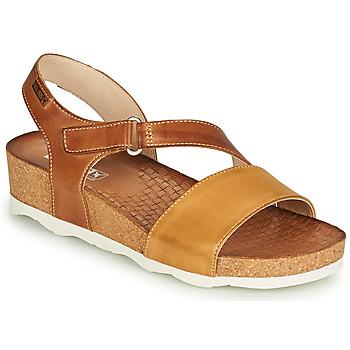 Schoenen Dames Sandalen / Open schoenen Pikolinos MAHON W9E Bruin
