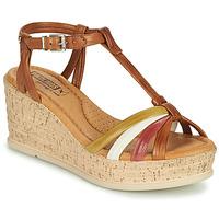 Schoenen Dames Sandalen / Open schoenen Pikolinos MIRANDA W2F Bruin