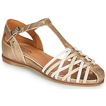 Schoenen Dames Sandalen / Open schoenen Pikolinos TALAVERA W3D Goud
