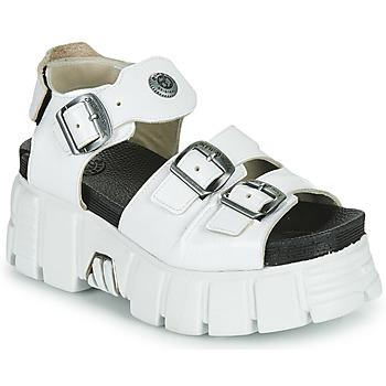 Schoenen Dames Sandalen / Open schoenen New Rock M-BIOS101-C3 Wit
