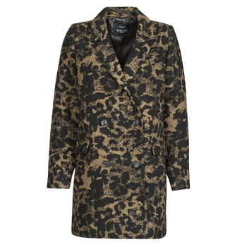 Textiel Dames Wind jackets Deeluxe LEA Bruin / Zwart