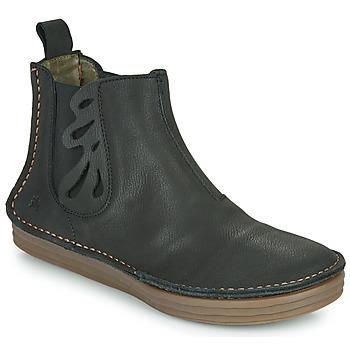 Schoenen Dames Enkellaarzen El Naturalista PLEASENT Zwart