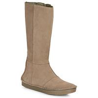 Schoenen Dames Hoge laarzen El Naturalista LUX Bruin