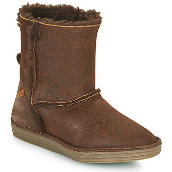 Schoenen Dames Laarzen El Naturalista LUX Bruin