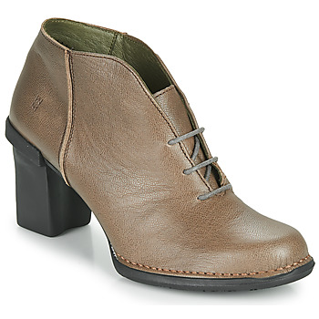 Schoenen Dames Hoge laarzen El Naturalista CAPRETTO Bruin