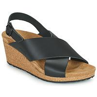 Schoenen Dames Sandalen / Open schoenen Papillio SAMIRA RING BUCKLE Zwart