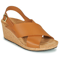 Schoenen Dames Sandalen / Open schoenen Papillio SAMIRA RING BUCKLE Bruin