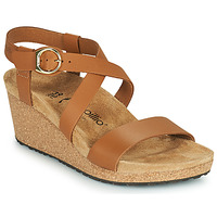 Schoenen Dames Sandalen / Open schoenen Papillio SIBYL RING BUCKLE Bruin
