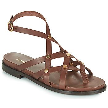 Schoenen Dames Sandalen / Open schoenen Jonak WHITNEY Bruin