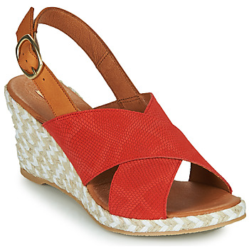 Schoenen Dames Sandalen / Open schoenen Pare Gabia NAMEE Oranje