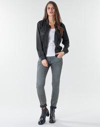 Textiel Dames Skinny Jeans G-Star Raw 3301 Low Skinny Wmn Vintage / Cobler