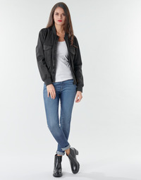 Textiel Dames Skinny Jeans G-Star Raw 3301 Ultra High Super Skinny Wmn Vintage