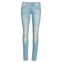 Textiel Dames Skinny Jeans G-Star Raw Lynn Mid Skinny Wmn Vintage