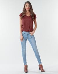 Textiel Dames Skinny Jeans G-Star Raw Lynn Mid Skinny Wmn NEW Vintage