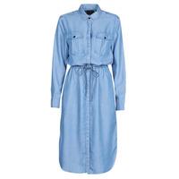 Textiel Dames Lange jurken G-Star Raw Rovic maxi shirt dress ls Vintage