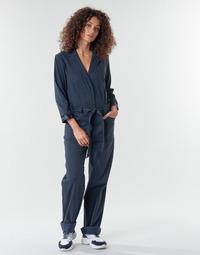 Textiel Dames Jumpsuites / Tuinbroeken G-Star Raw Workwear pj jumpsuit 34 slv wmn Donkerblauw / Blauw
