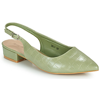 Schoenen Dames pumps Moony Mood OGORGEOUS Groen / Amandel