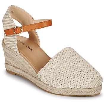 Schoenen Dames Sandalen / Open schoenen Moony Mood OCUTE Beige