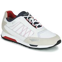 Schoenen Heren Lage sneakers BOSS Parkour_runn_net2 10214599 Wit