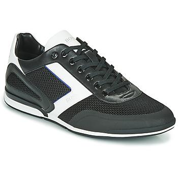 Schoenen Heren Lage sneakers BOSS Saturn_Lowp_me 10230782 Zwart