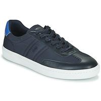 Schoenen Heren Lage sneakers BOSS RIBEIRA TENN NYLT Blauw