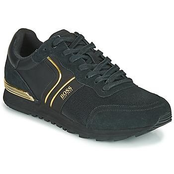 Schoenen Heren Lage sneakers BOSS ARDICAL RUNN NYMX2 Zwart / Goud