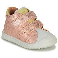 Schoenen Meisjes Lage sneakers Bisgaard TATE Roze / Goud