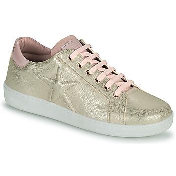 Schoenen Meisjes Lage sneakers Bisgaard TILDE Goud