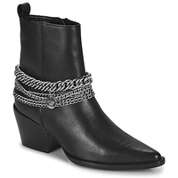 Schoenen Dames Hoge laarzen Bronx JUKESON Zwart