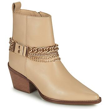 Schoenen Dames Hoge laarzen Bronx JUKESON Beige