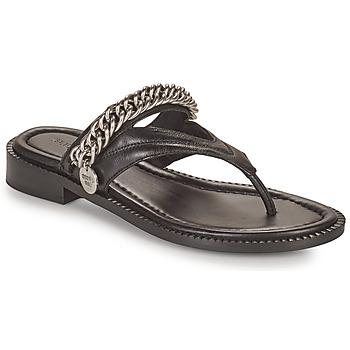 Schoenen Dames Sandalen / Open schoenen Bronx NEW THRILL Zwart